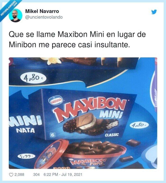 insultante,llamarse,maxibon,minibon
