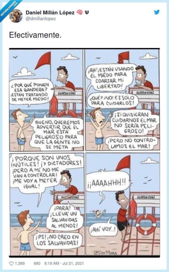 937136 - Este cómic de @soy.mora refleja tal cual lo que está pasando actualmente con los antivacunas, por @dmillanlopez