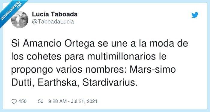 amancio ortega,earthska,jeff bezos,marssimo,multimillonarios,stardivarius