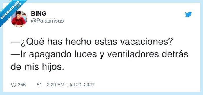 apagar,detrás,vacaciones,ventiladores