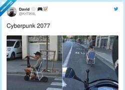Enlace a Cyberpunk 2077, por @KrITIK4L