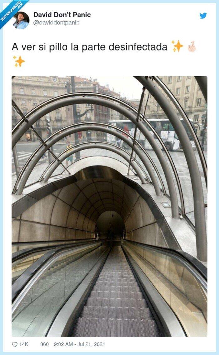 bilbao,escaleras mecánicas,metro