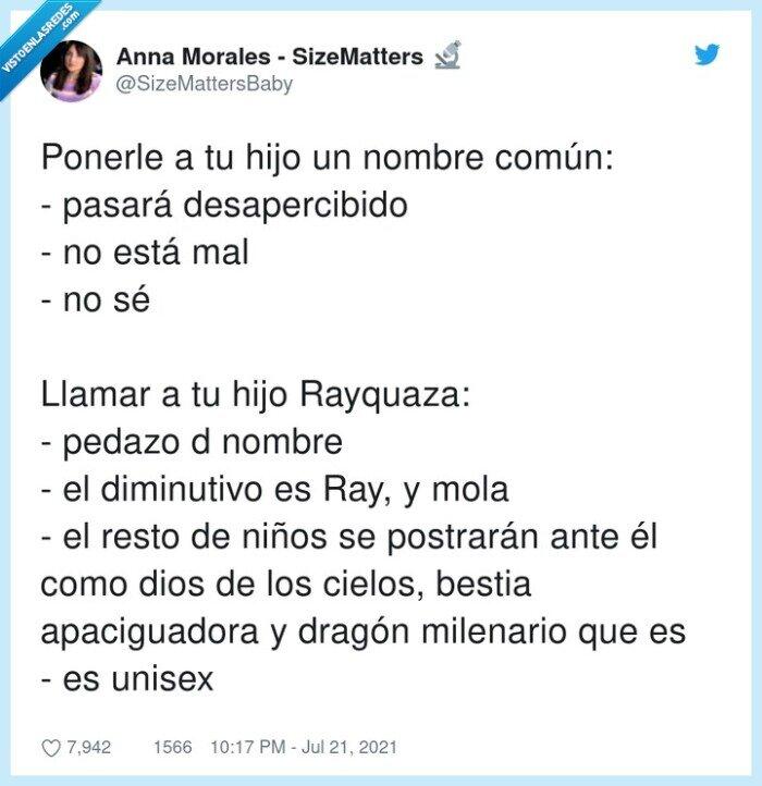 nombre,ray,rayquaza