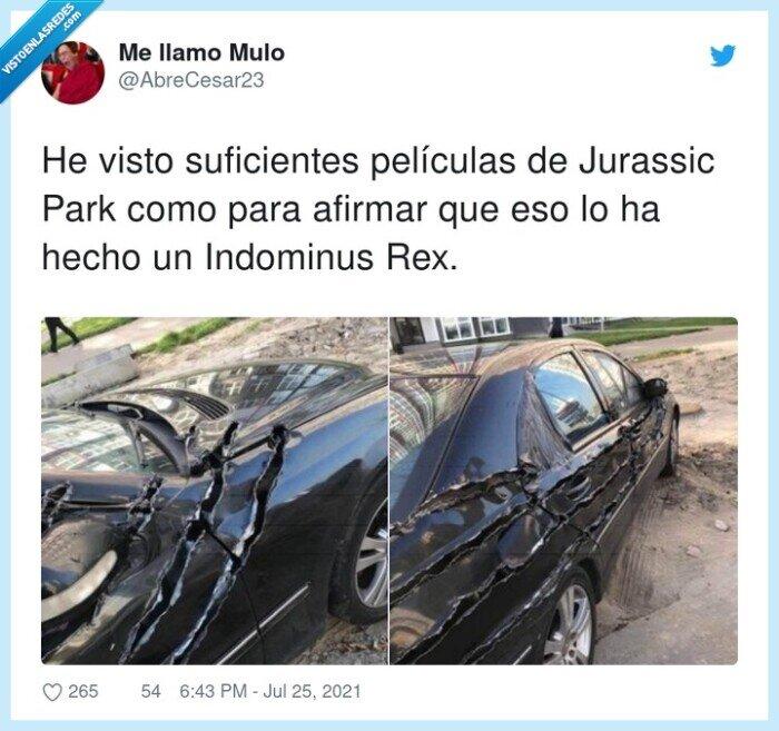 coche,dinosaurio,indominus,jurassic,películas,rajada,suficientes