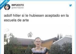 Enlace a Es una referencia al Hitler de Little Nicky, por @ANTlSEX0