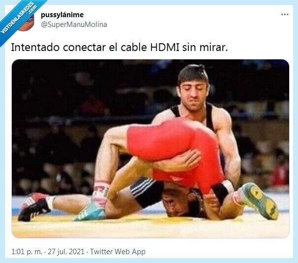cable,conectar,hdmi,mirar,olimpiadas