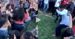 Enlace a Este hombre merece un premio Nobel de la Paz por ponerse a bailar en medio de una pelea y conseguir una pista de baile, por @peopleflipout