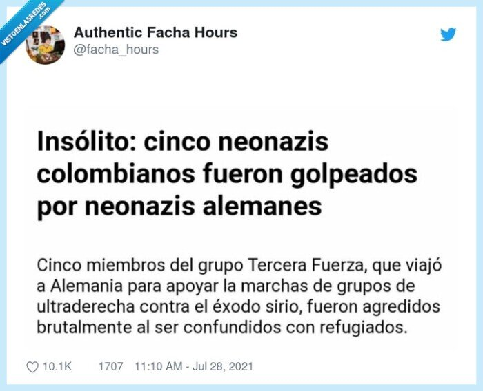 alemanes,colombianos,neonazis