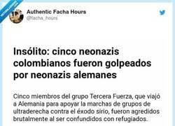 Enlace a Pelea de inválidos, por @facha_hours