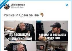 Enlace a Políticos en España, por @JulenBollain
