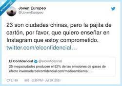 Enlace a Esas pajitas de cartón, que cuando se han mojado ya no sirven para nada, por @JovenEuropeo