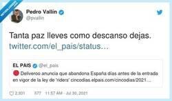 Enlace a Deliveroo se va de España y muchos son los que se alegran, por @pvallin