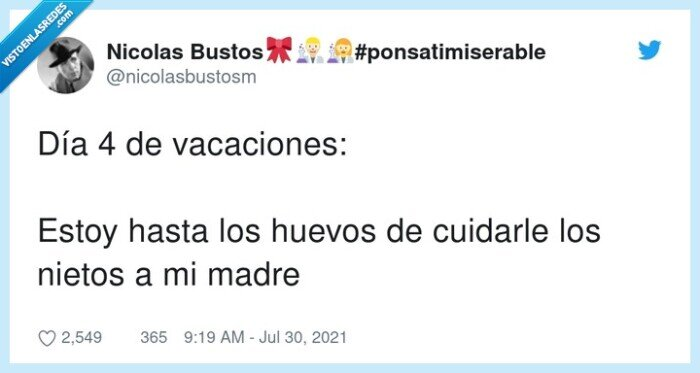 cuidar,nietos,vacaciones