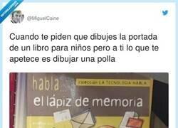 Enlace a Es un pene drive, por @MiguelCaine
