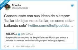 Enlace a Sergio Dalma consecuente hasta el final, por @BrioEnfurecida