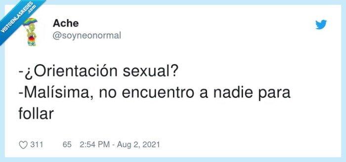 malísima,nadie,orientación sexual