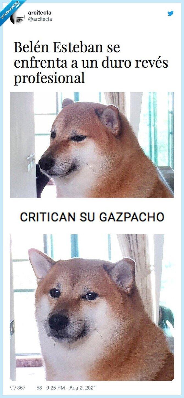 belen esteban,crítica,gazpacho