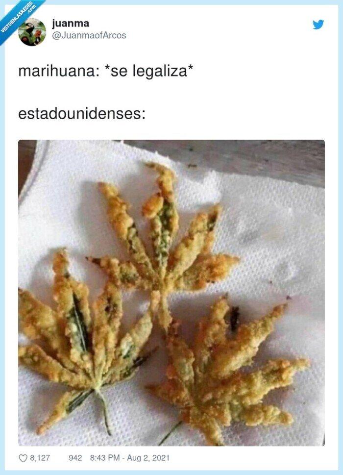estadounidenses,freír,legalizar,marihuana