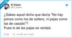 Enlace a O sea que de soltero tampoco hay polvos, por @El_Gripao