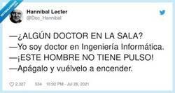 Enlace a Lo primero que hay que probar, por @Doc_Hannibal