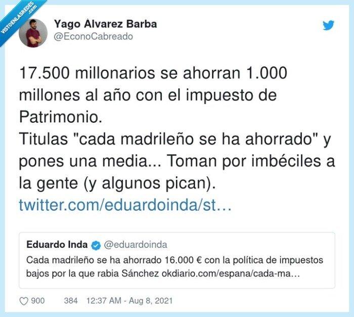 ahorrar,madrileño,millonarios,millones,patrimonio