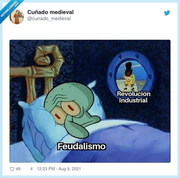 feudalismo,revolución industrial