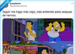 Enlace a Otra vez Los Simpson prediciendo por @supermanumolina