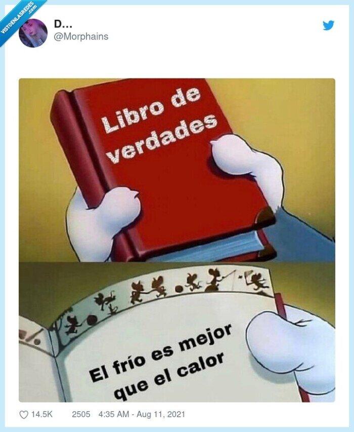 calor,frío,libro,mejor