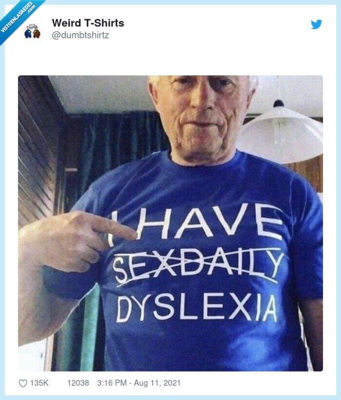 camiseta,dislexia