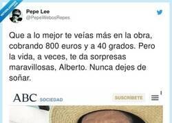 Enlace a Si, lo normal siendo el hijo de Carlos Herrera es que hubiese terminado de cajero en Carrefour, por @PepeWebosRepes