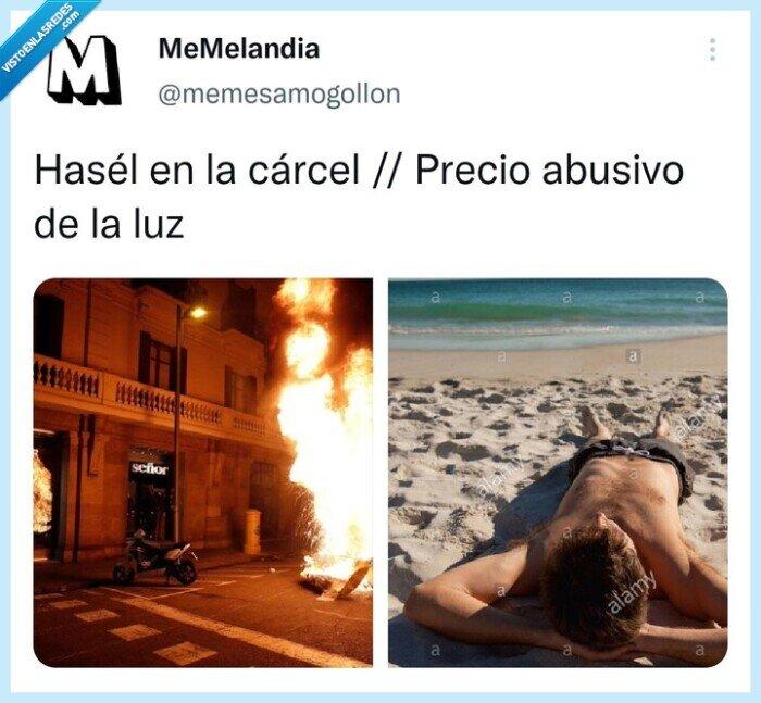 carcel,eléctricas,Hasel,Luz