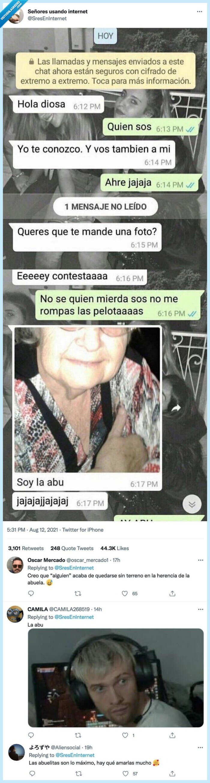 abuela,ligar,whatsapp