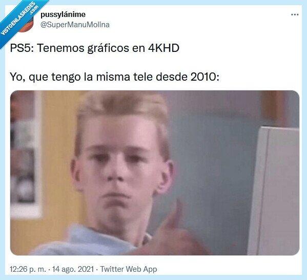 gráficos,ps5,tele
