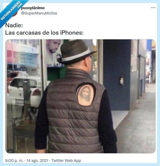 carcasas,chaqueta,iphone