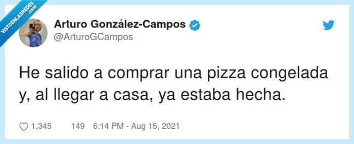 comprar,congelada,hecha,pizza