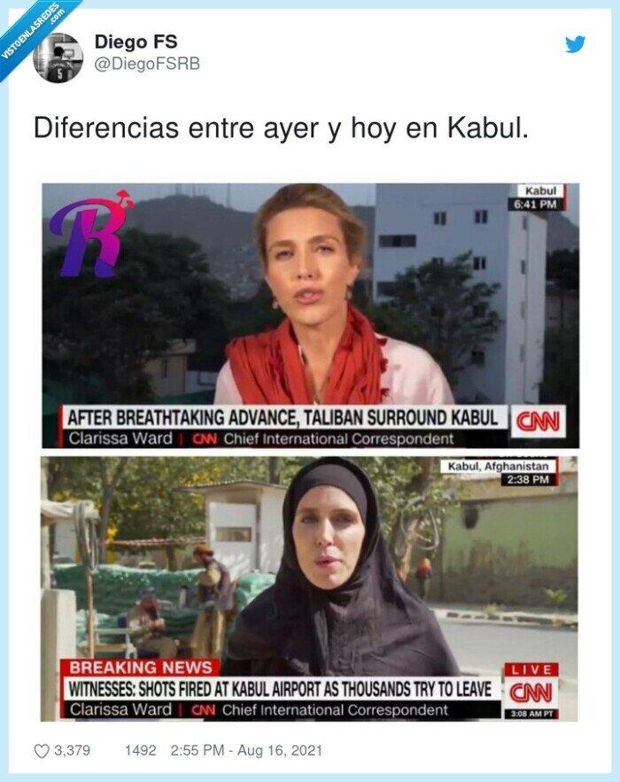 ayer,diferencias,kabul,noticias,reportera