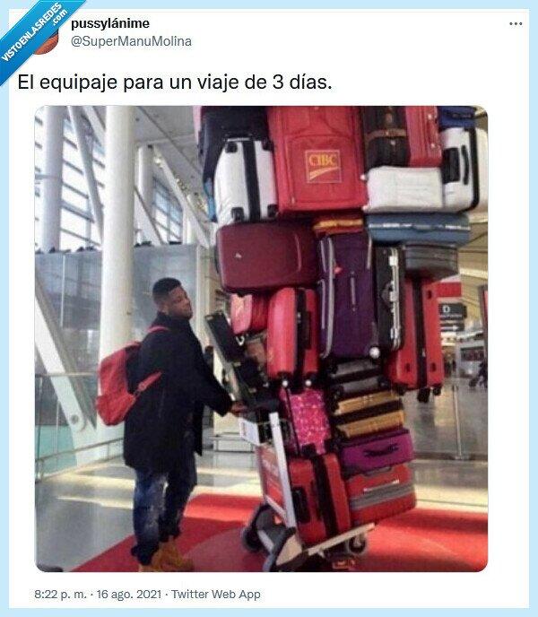 corto,equipaje,viaje