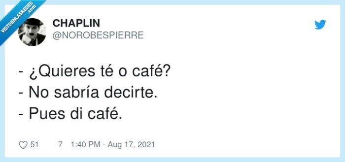 café,querer,té