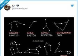 Enlace a Así debería ser el horóscopo, por @bizarreminded