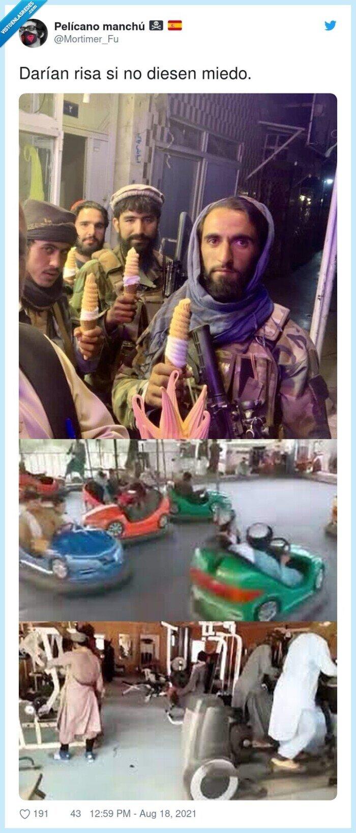 cómico,miedo,talibanes