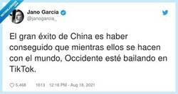 Enlace a Que también es chino. La culpa es nuestra, ellos han actuado hábilmente, por @janogarcia_