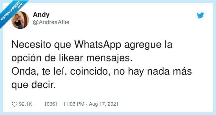 mensajes,necesito,opción,whatsapp