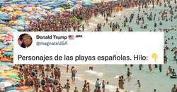 Enlace a El hilo más refrescante del verano: los personajes de las playas españolas, por @magnateUSA