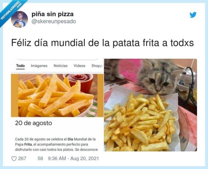 día mundial,patata frita