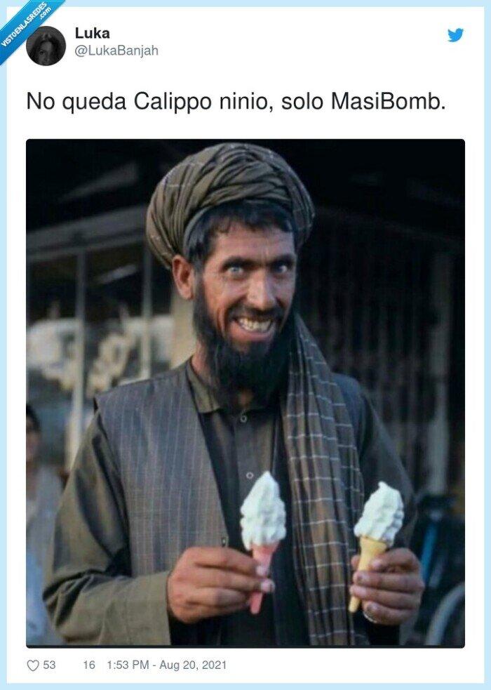 calippo,masibomb,ninio,quedar,talibanes