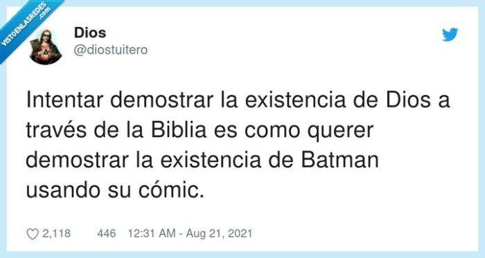 batman,biblia,demostrar,dios,existencia,intentar