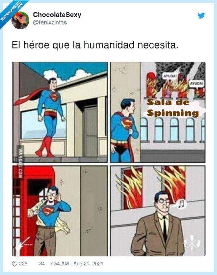 héroe,humanidad,necesita,spinning,superman