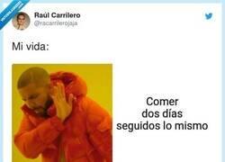 Enlace a Los desayunos no se tocan, por @racarrilerojaja