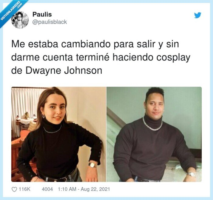 cambiarse,cosplay,dwayne johnson,the rock