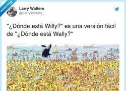 Enlace a No consigo dar con Wally, por @LarryWalters_